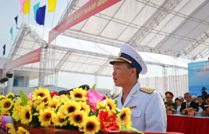 Introducing the young captain of Vietnam's Molniya-class warship