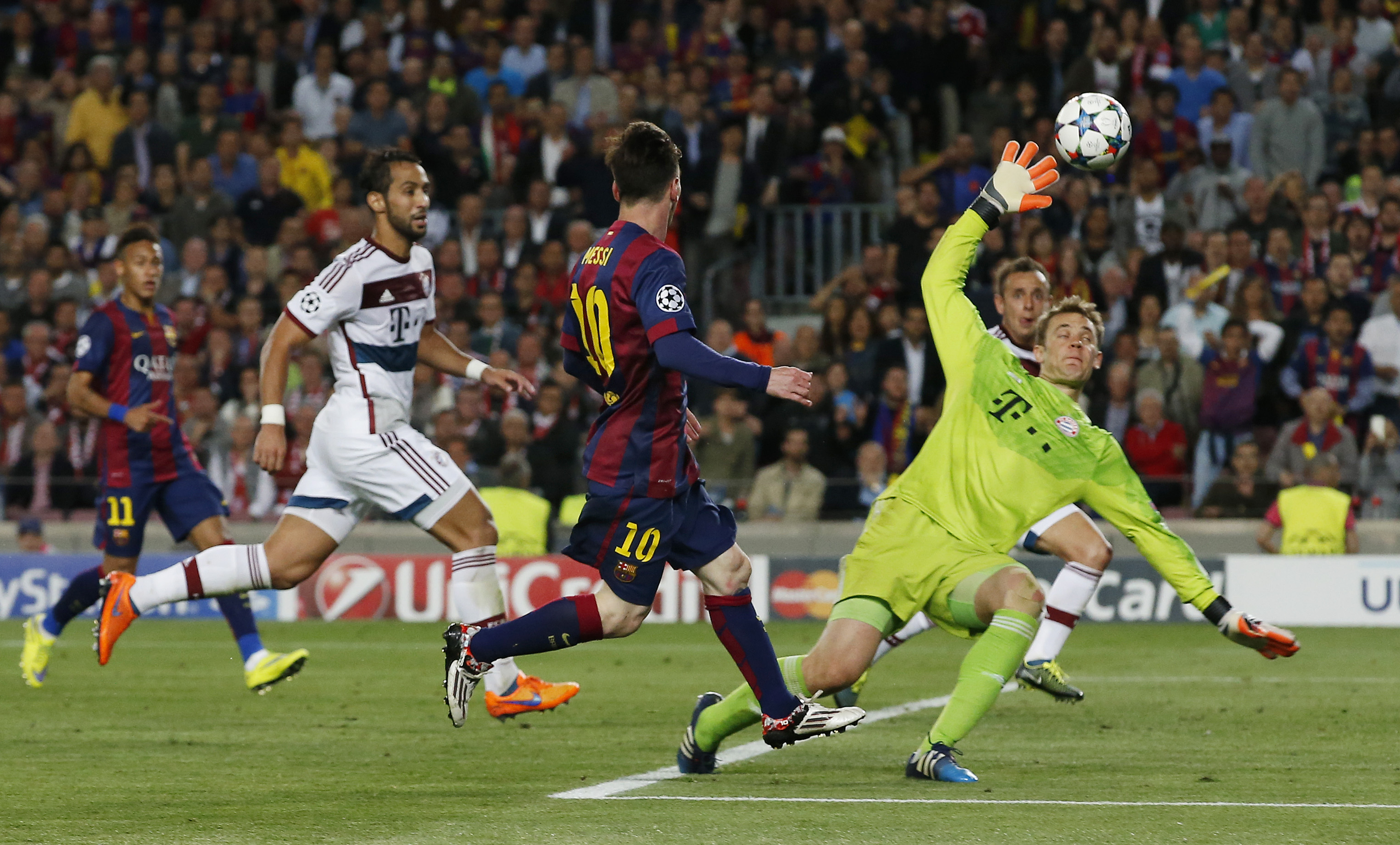 Magical Messi makes the difference: again