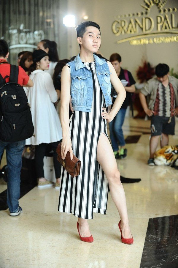 Controversial: Project Runway Vietnam contestants let male models don females' outfits