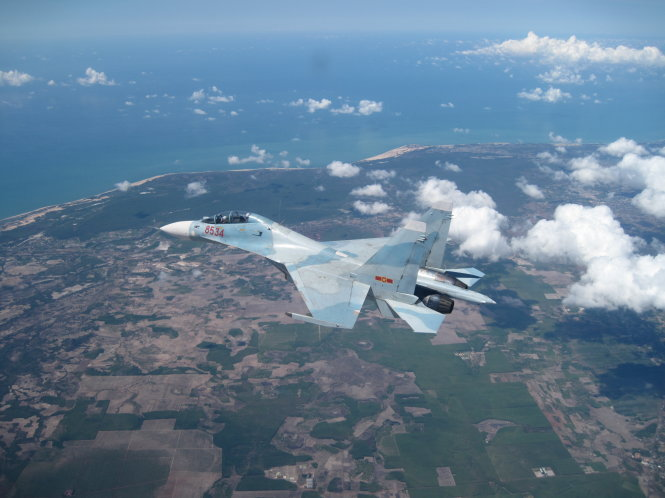 Beholding Vietnam's Russian-made 'King Cobra' Su-30MK2 warplanes