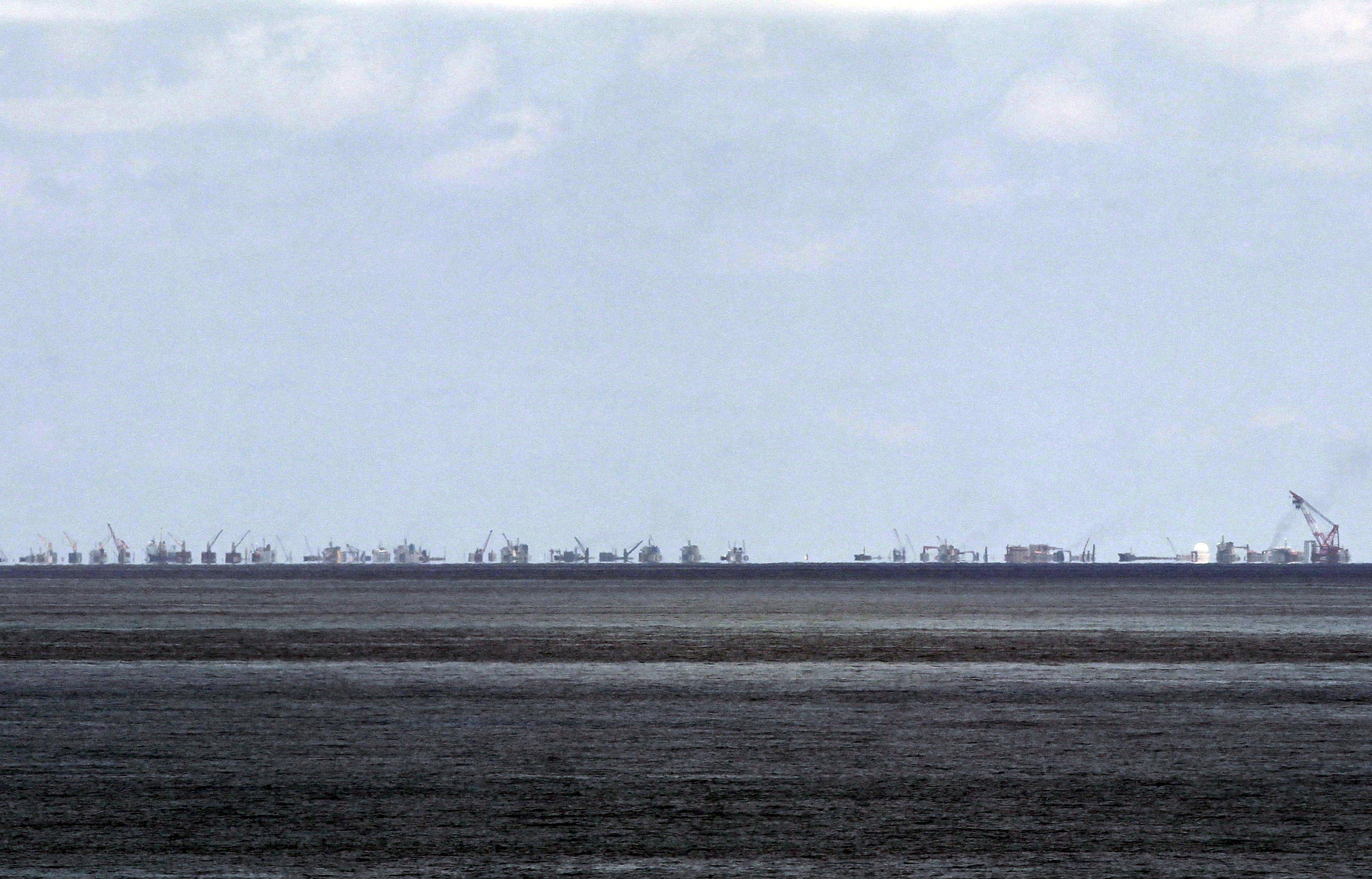 China says U.S. East Vietnam Sea actions