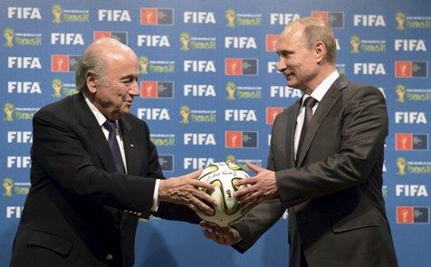 Russia's Putin says FIFA arrests shows U.S. meddling abroad