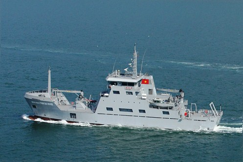 Vietnam to build ships for maritime research, survey locally