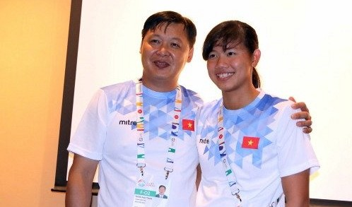 Vietnamese swim star Nguyen Thi Anh Vien has strong spirit behind daily trifles