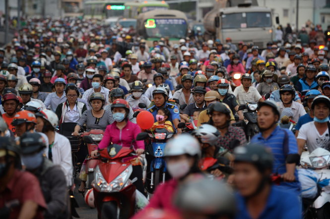 Ho Chi Minh City to collect road maintenance fee from motorbike owners at zero rate: official
