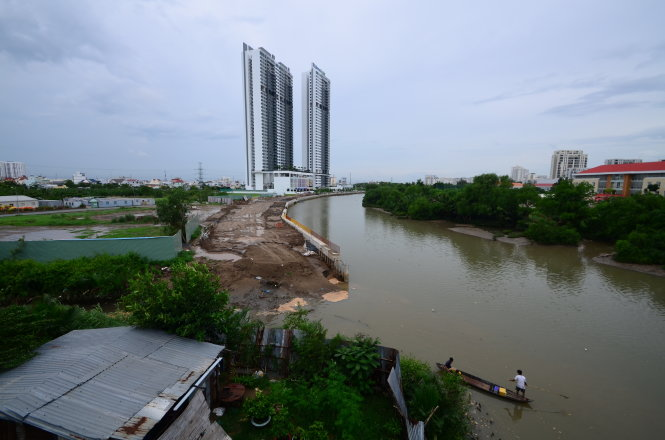Filling canals to develop projects raises environmental concerns in Ho Chi Minh City