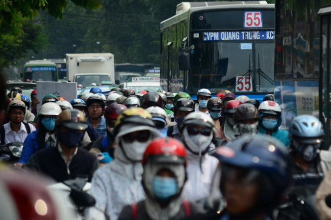 No more traffic jams, congestion in Vietnam's cities