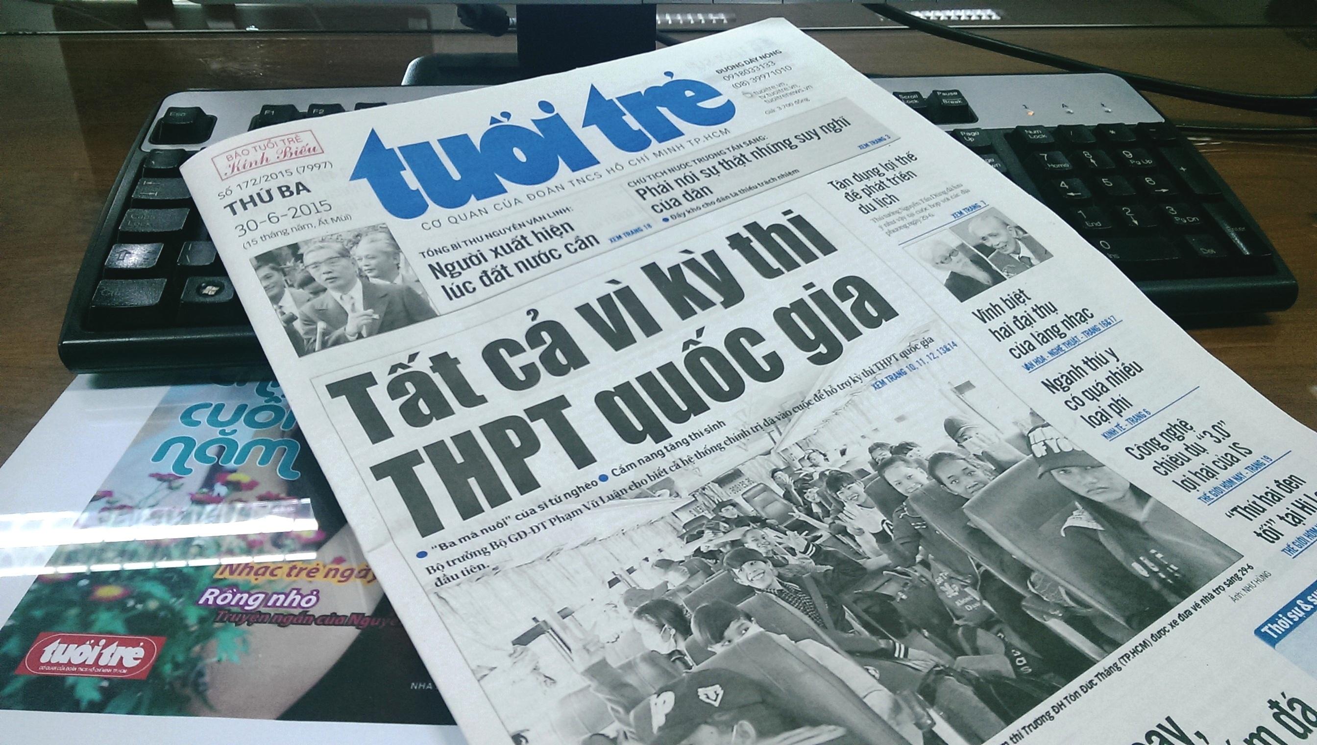 Breakfast @ Tuoi Tre News – June 30