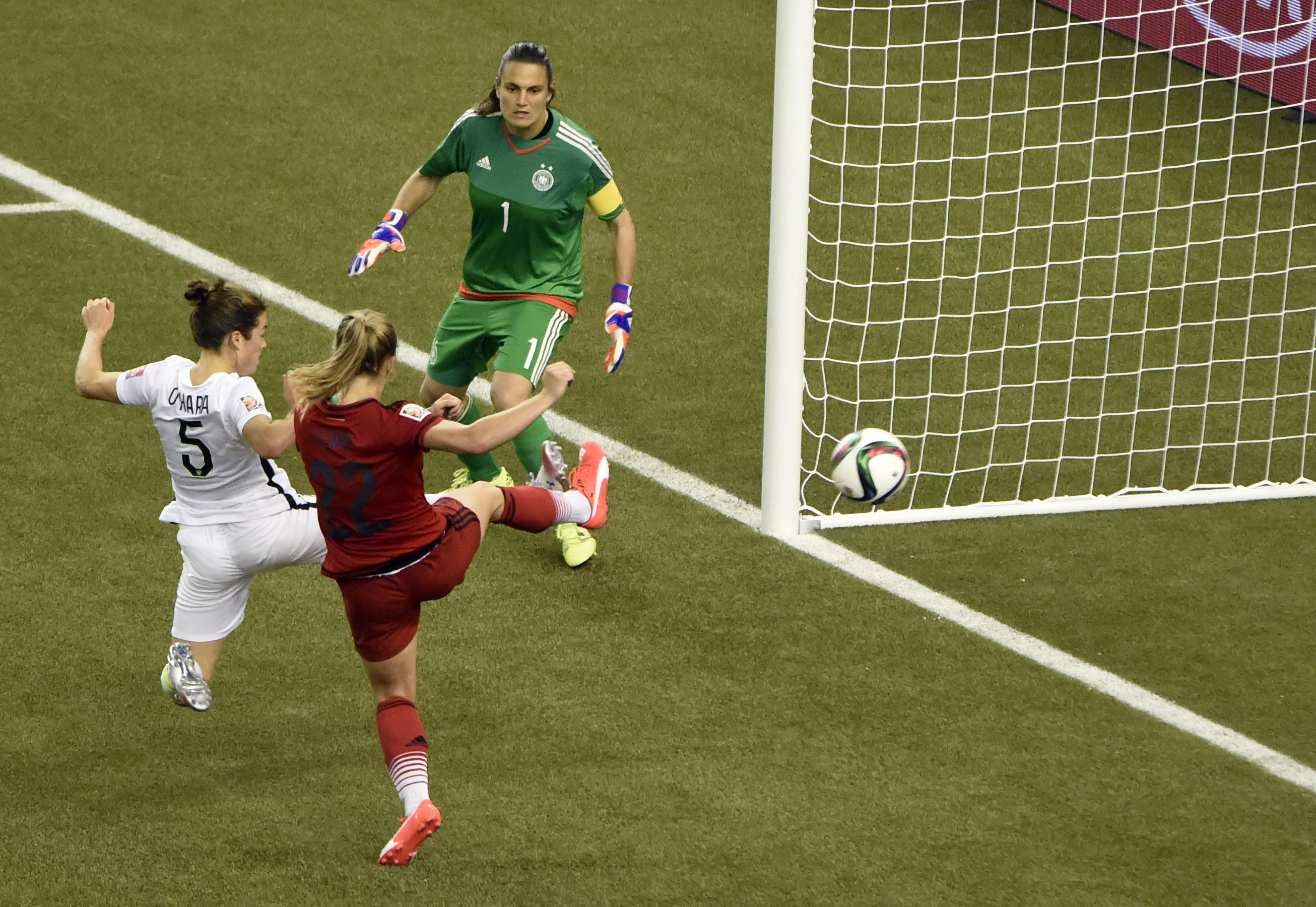 Americans beat Germany to reach World Cup final