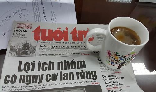 Breakfast @ Tuoi Tre News – July 4