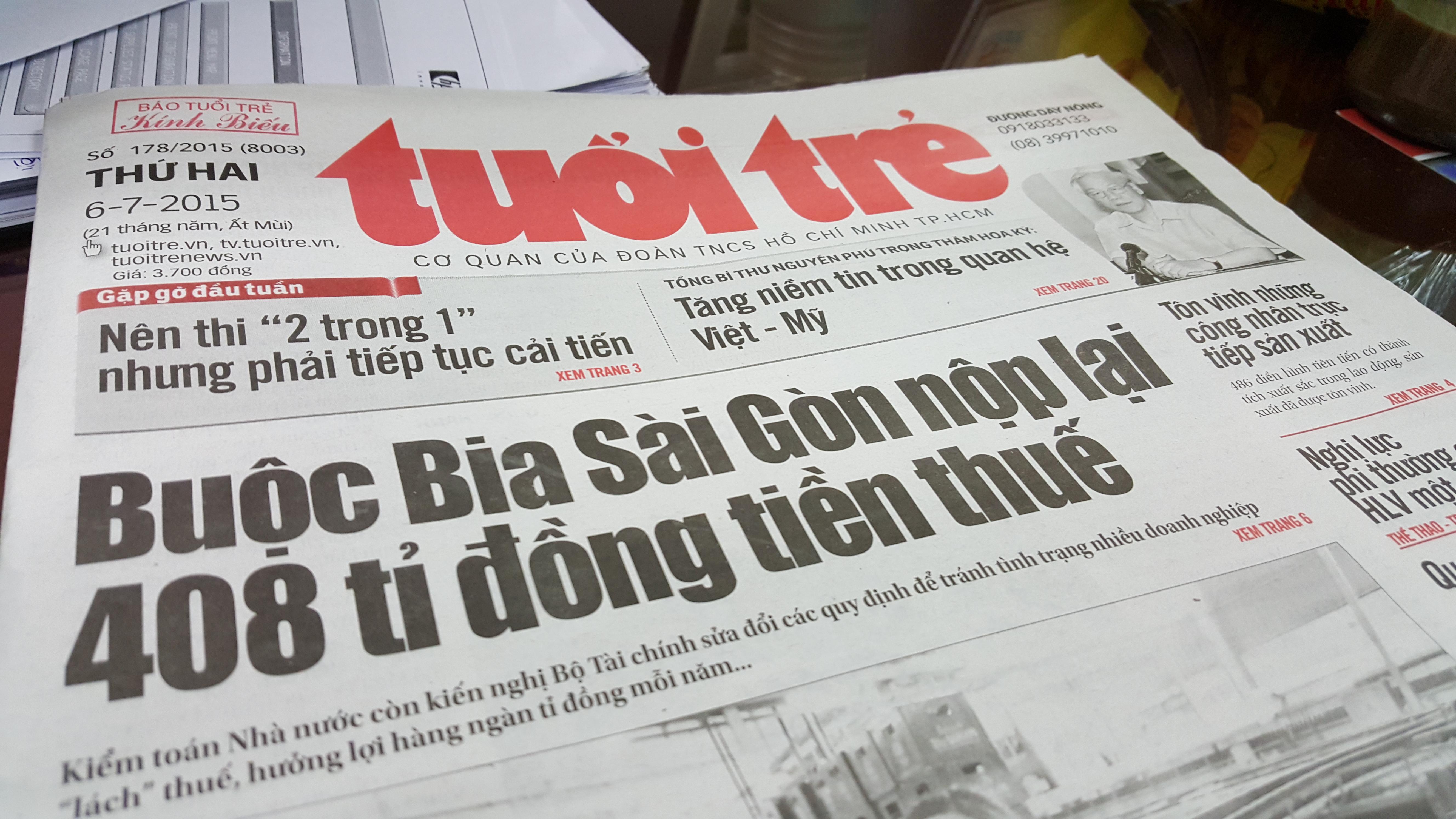 Breakfast @ Tuoi Tre News – November 27