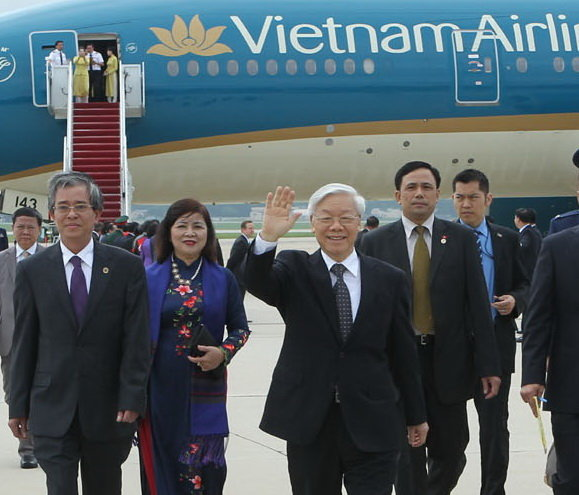 Vietnam Party leader Trong to meet with US President Obama