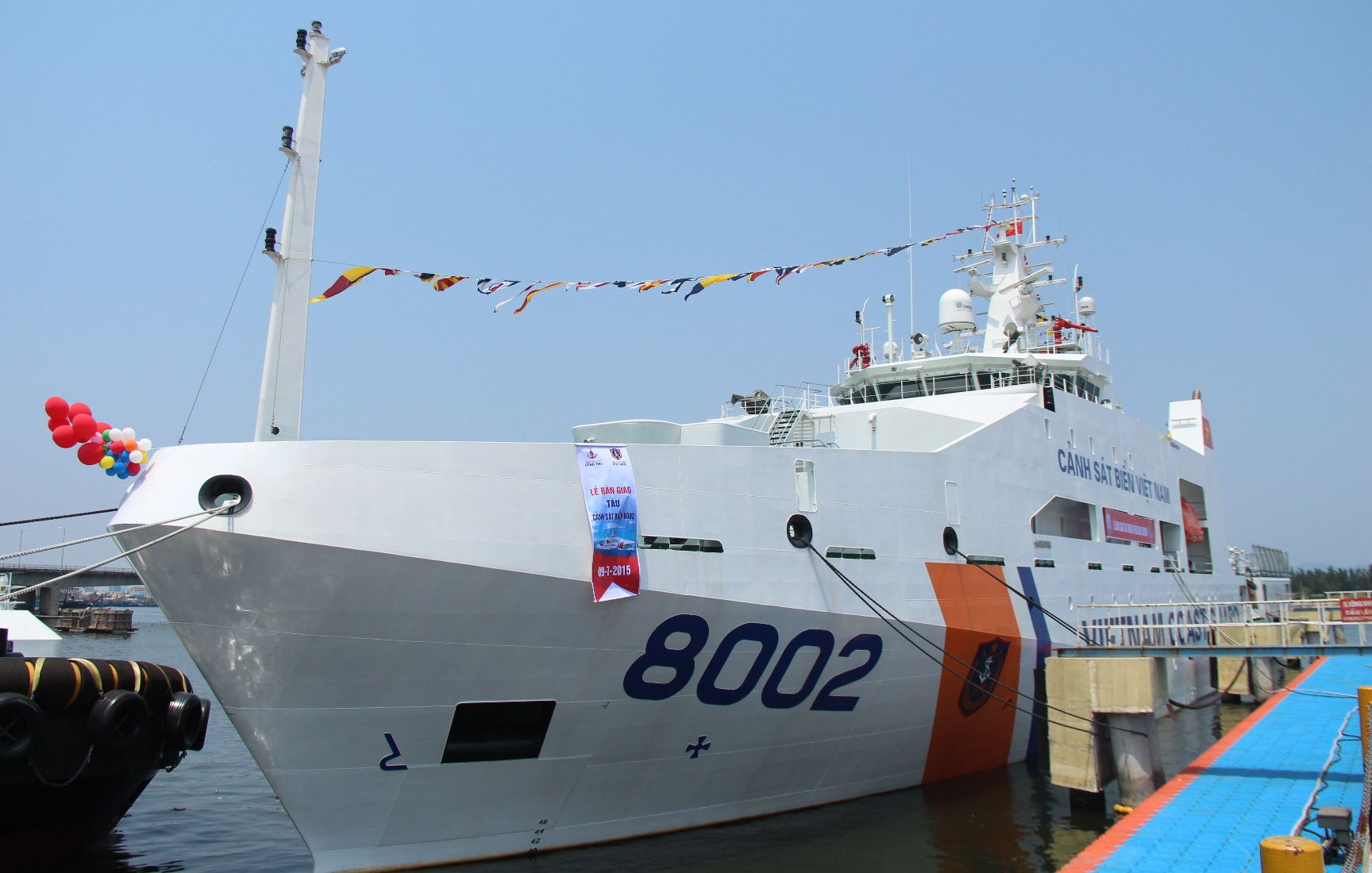 Vietnam Coast Guard receives two advanced ships