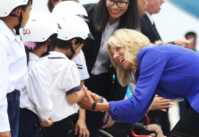 US Second Lady Jill Biden visiting Vietnam