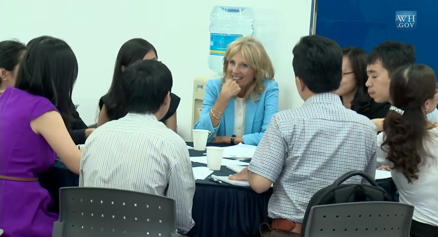 White House clip on US Second Lady's trip to Ho Chi Minh City