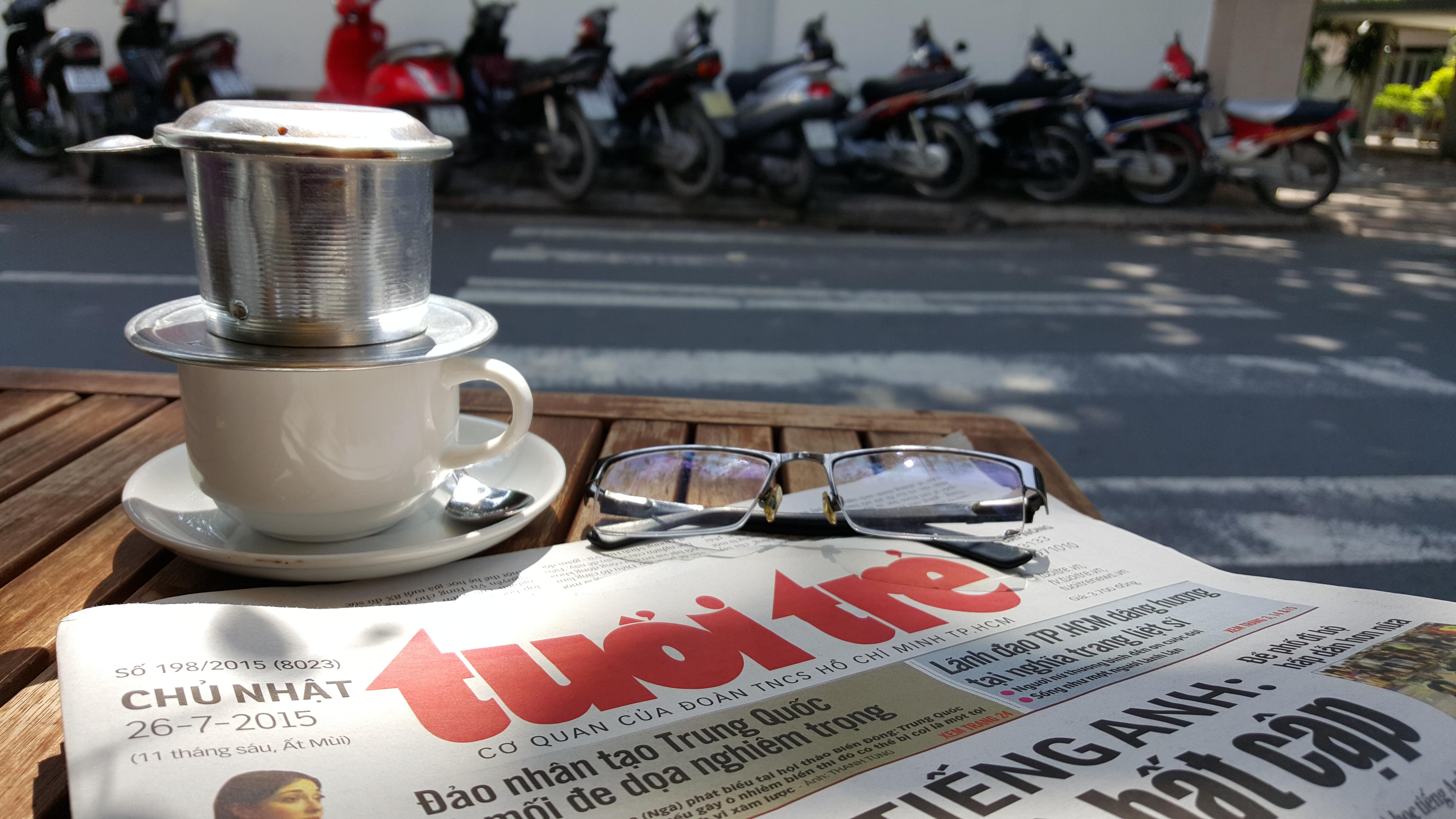 Breakfast @ Tuoi Tre News – August 19