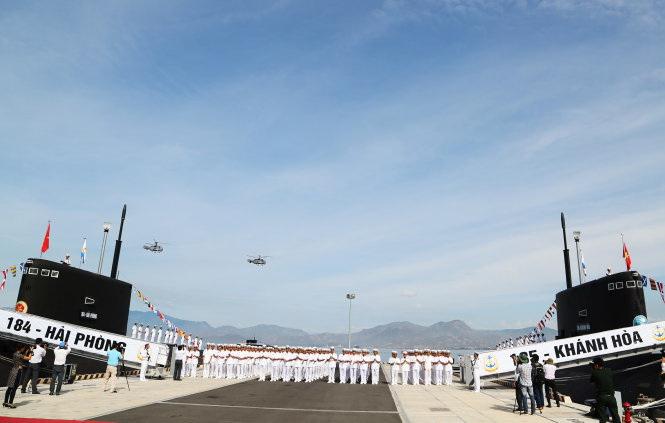 Vietnam holds flag-hoisting ceremony for new Russian-made Kilo-class submarines