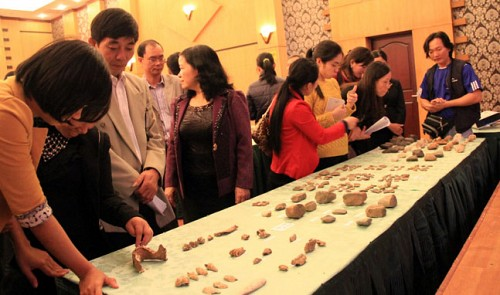 Ancient stones discovered in northern Vietnam