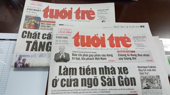 Breakfast @ Tuoi Tre News – August 10