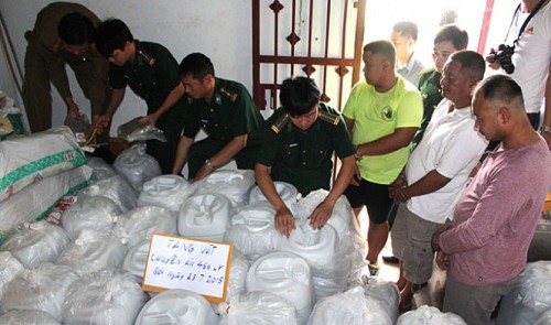 Southeast Asia's biggest-ever drug warehouse raided by Vietnamese, Laotian detectives
