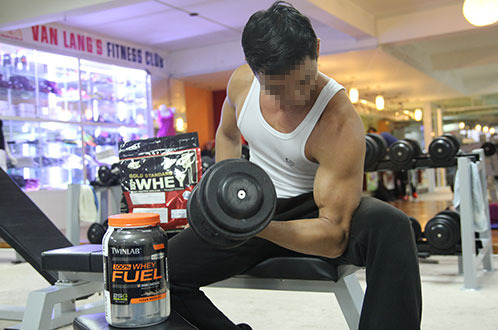 Arbitrary use of dietary supplements, steroids at Ho Chi Minh City bodybuilding clubs