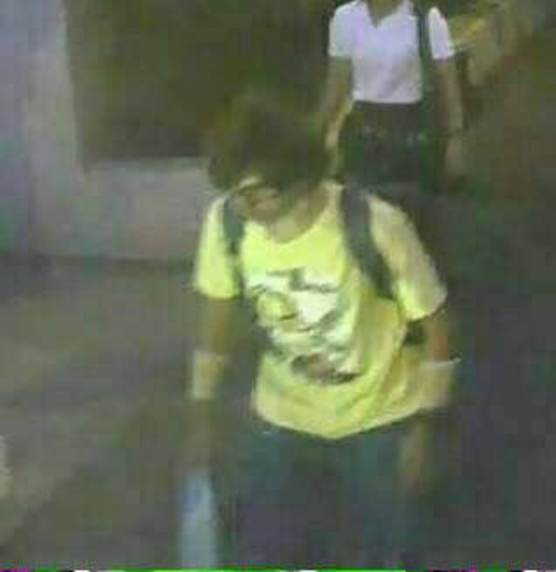Thai security forces hunt bombing suspect with backpack