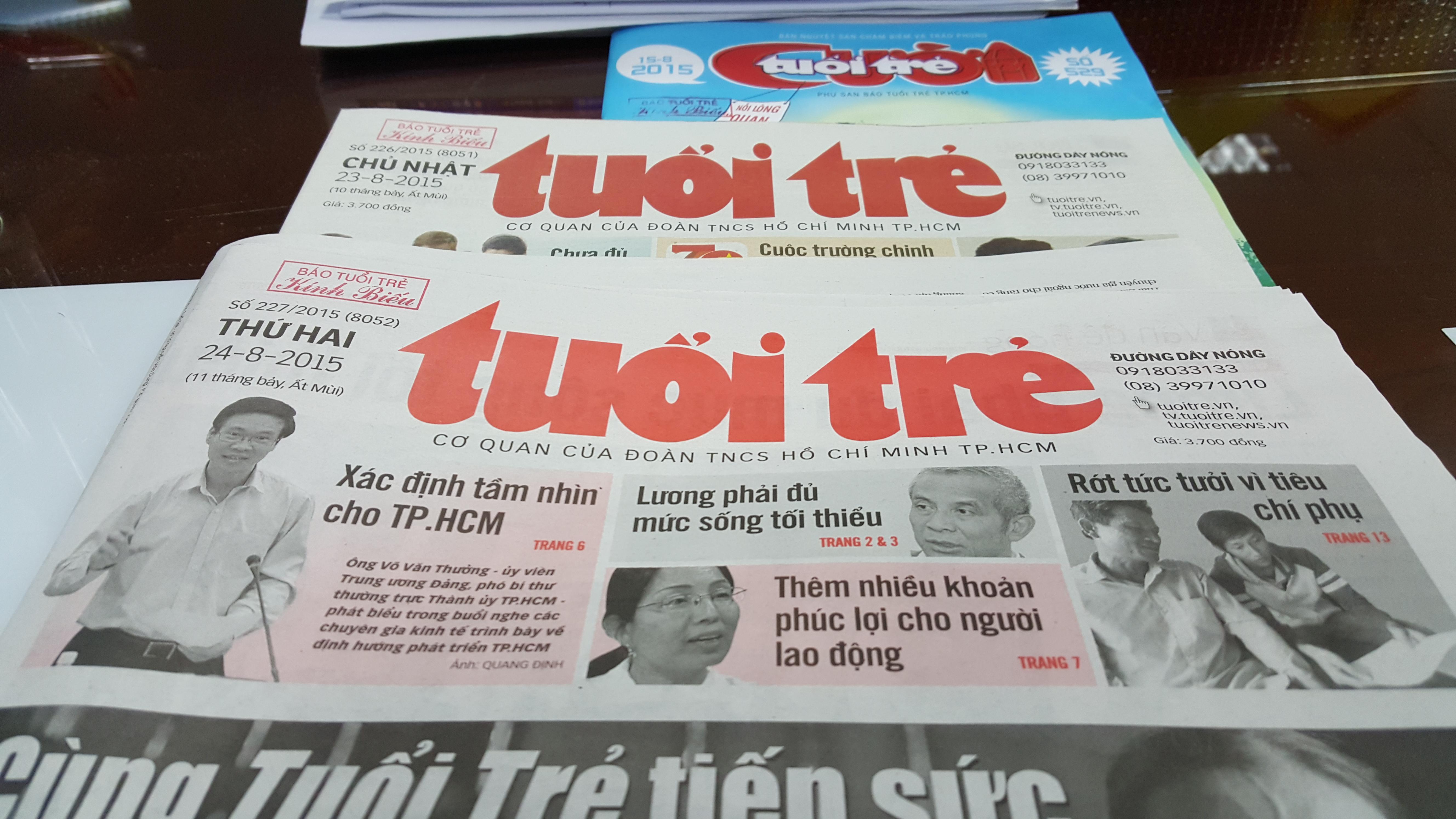 Breakfast @ Tuoi Tre News – August 24