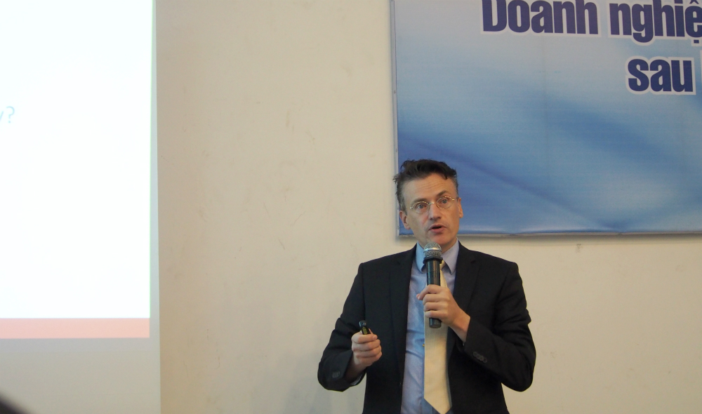Vietnamese, European firms should bolster connections to take advantage of trade pact: expert