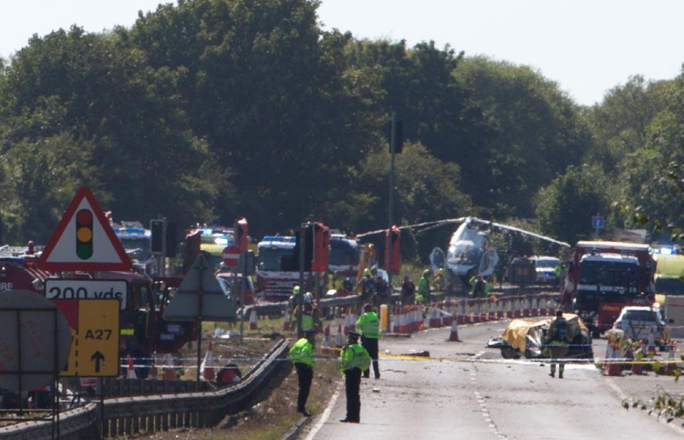 UK airshow crash toll to rise as safety rules reviewed