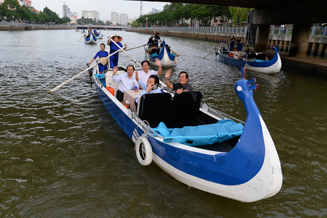 Ho Chi Minh City offers boat tour of Nhieu Loc-Thi Nghe Canal