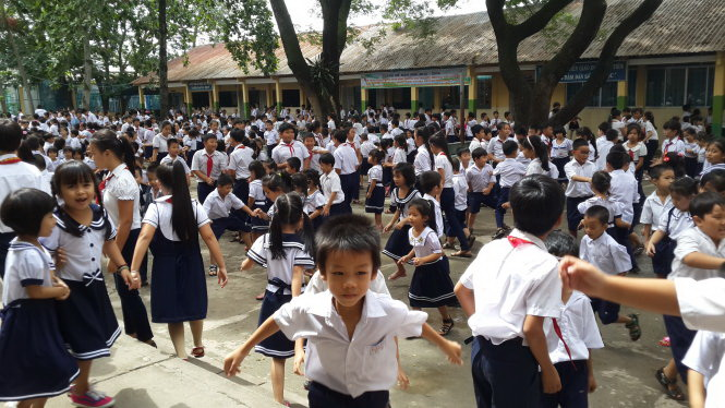 Ho Chi Minh City schools overloaded with immigrant students