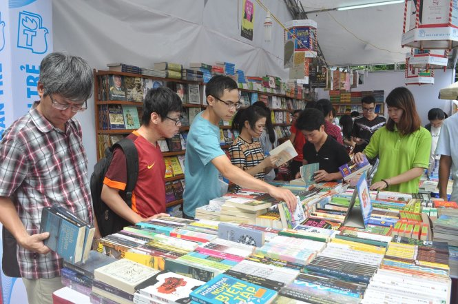 International book fair and exhibition now running in Hanoi