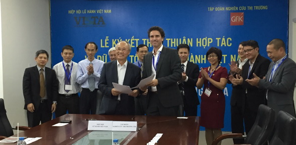 Vietnam travel association, GfK partner to support tourism industry growth