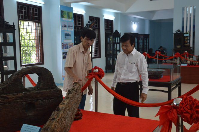 Exhibition dedicated to shipwreck artifacts taking place in central Vietnam