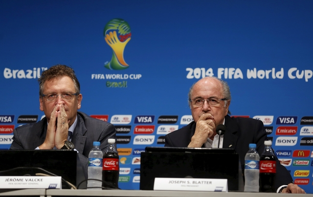 Blatter tells FIFA members they will survive