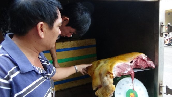 Vietnam police bust ring selling fake wild boar meat made from sows