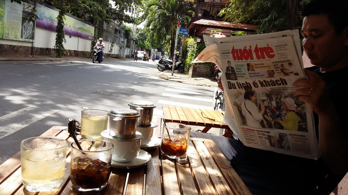 Breakfast @ Tuoi Tre News – October 12