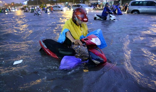 Foreign experts offer suggestions to combat flooding in Ho Chi Minh City