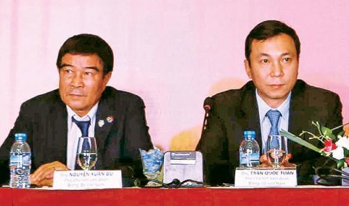 Deterioration in Vietnamese football management