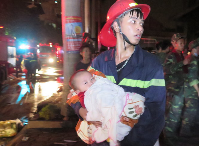 Fire at 34-story apartment building in Hanoi terrifies thousands