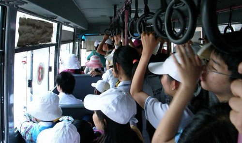 Why don't people enjoy taking the bus in Vietnam?