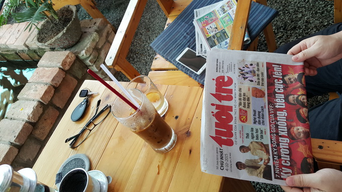 Breakfast @ Tuoi Tre News – November 2