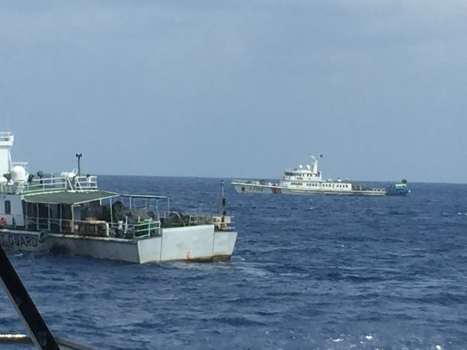 Chinese ships prevent Vietnamese boat's rescue mission in Vietnam's waters