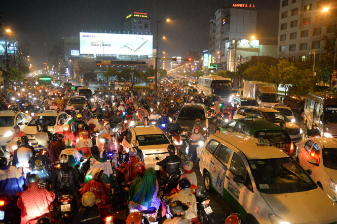 Increasing traffic congestion becomes less in the eye of authorities