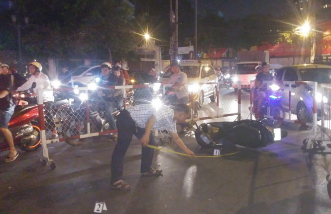 Woman knifes man to death after road accident in southern Vietnam