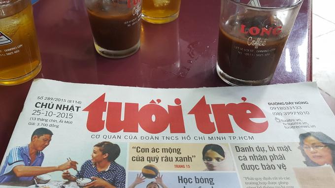 Breakfast @ Tuoi Tre News – October 26