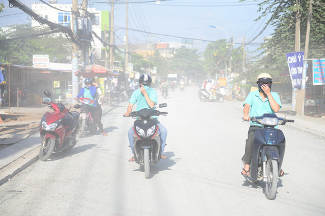 Dust in Ho Chi Minh City air far higher than acceptable level
