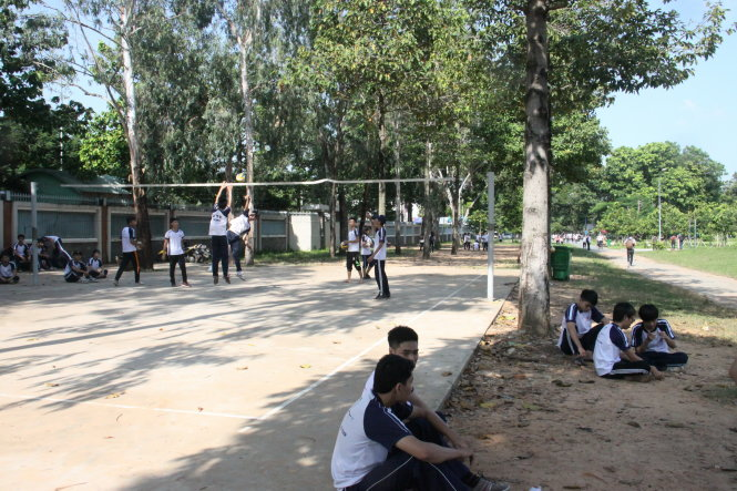Vietnam colleges lease out sports halls despite shortage of training fields for students