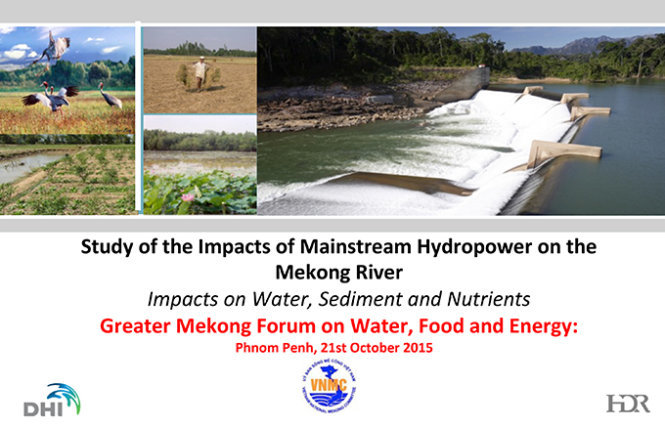 Ministry rejects report on hydro projects' impact on Mekong Delta