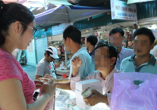 Fake iPhone 6S devices sell below $90 in Vietnamese province near China border